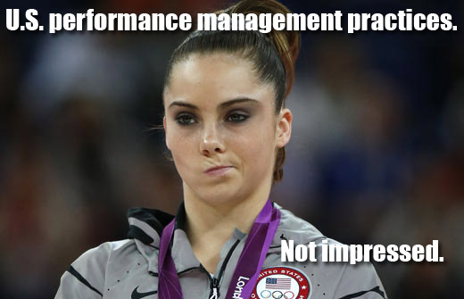 U.S. Performance Management Practices. Not impressed.