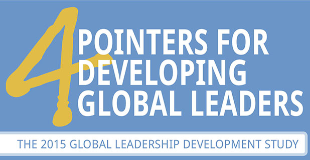 Infographic: 4 Pointers for Developing Global Leaders