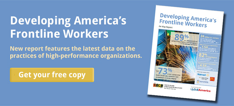 Developing America's Frontline Workers